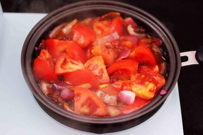 番茄牛肉炖土豆怎么炒