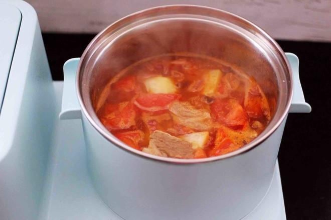 番茄牛肉炖土豆怎样做