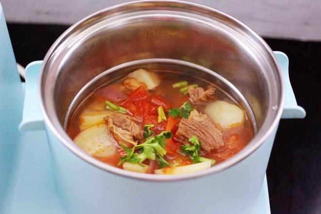番茄牛肉炖土豆怎样煮