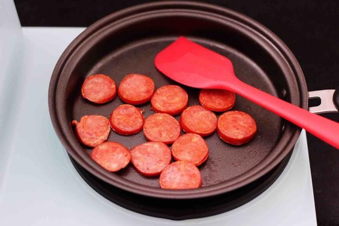 对虾红肠时蔬泡面怎么做