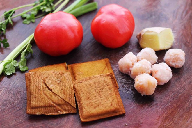 虾滑番茄豆干汤的做法大全