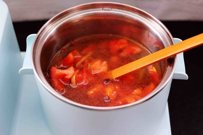 虾滑番茄豆干汤怎么煮