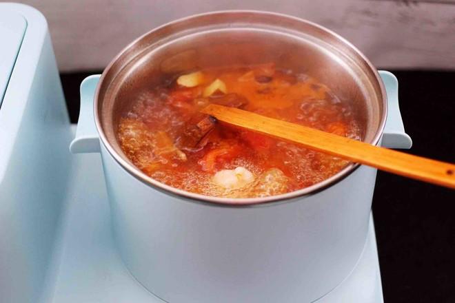 虾滑番茄豆干汤怎样炒
