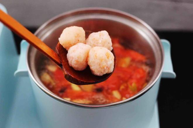 虾滑番茄豆干汤怎样做