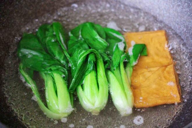 青菜香干虾皮青团怎么煮