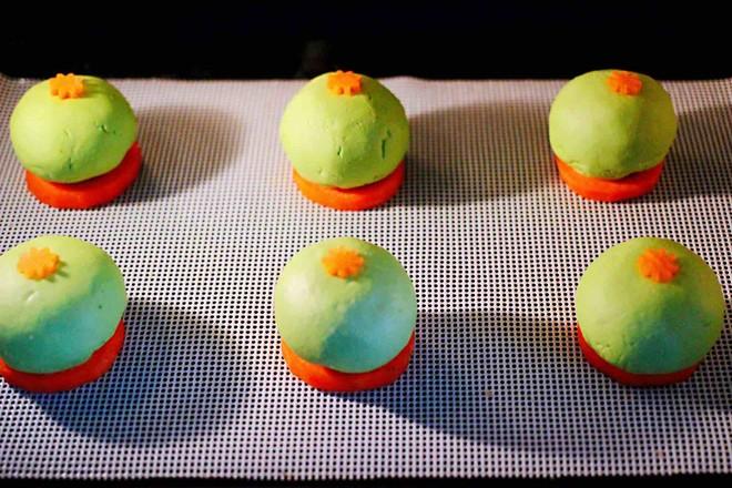 青菜香干虾皮青团的制作方法