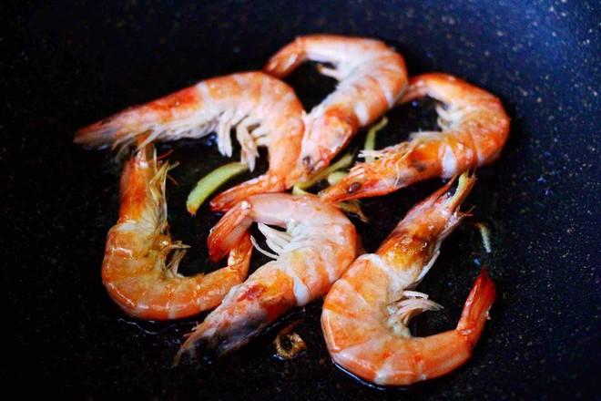西葫芦炒海虾怎么炒