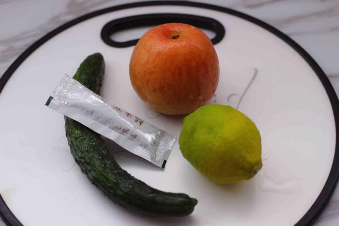 黄瓜苹果柠檬汁的做法大全