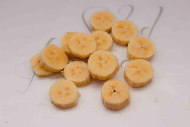 彩色棉花糖香蕉吐司的做法图解