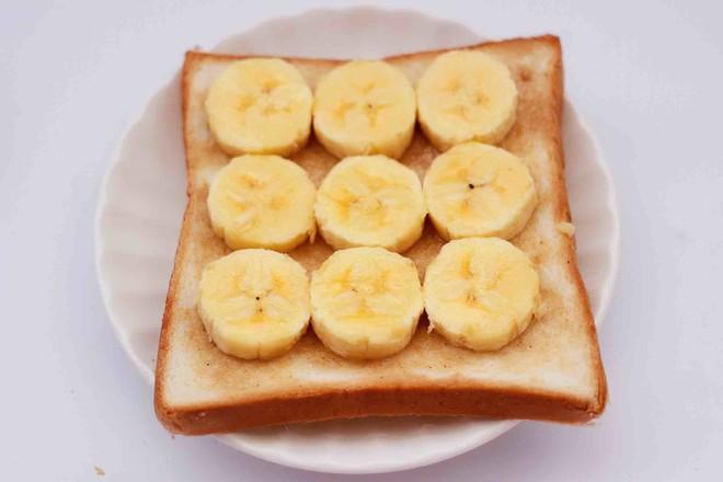 彩色棉花糖香蕉吐司的简单做法