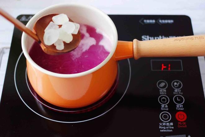 紫薯双米草莓粥怎样煸