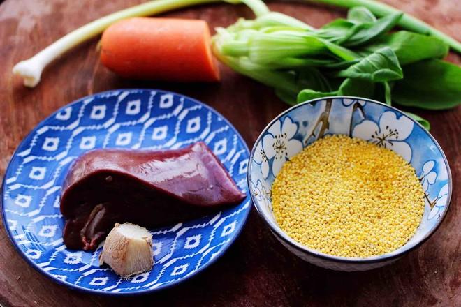 生滚猪肝时蔬小米粥的做法大全