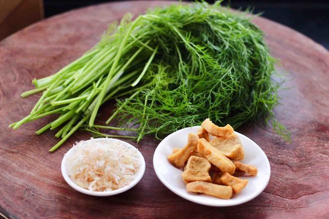 茴香油渣虾皮包的做法大全