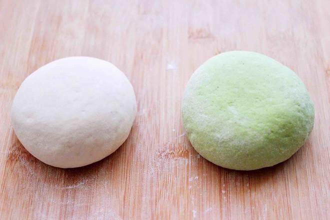 双色菠菜花样馒头怎么吃