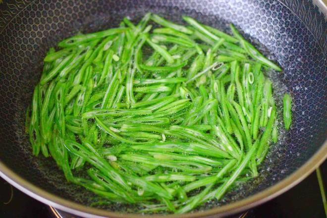芸豆丝炒肉便当怎么吃