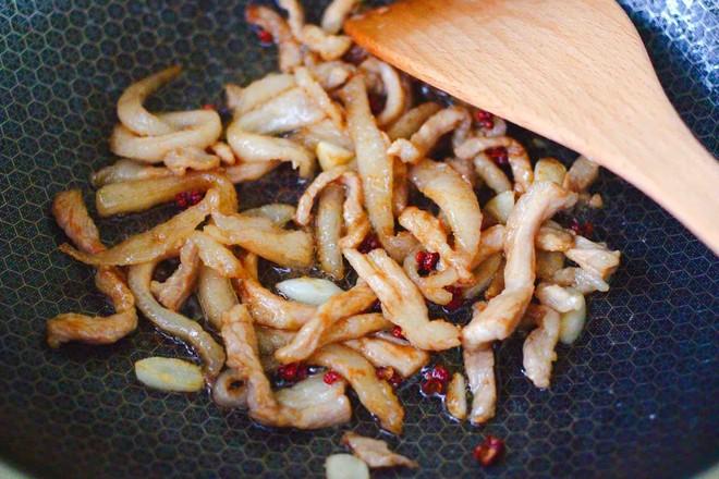 芸豆丝炒肉便当怎样做