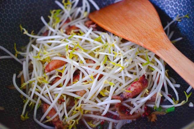 海兔绿豆芽小炒怎么煮
