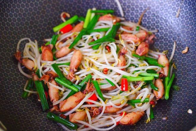 海兔绿豆芽小炒怎样煮