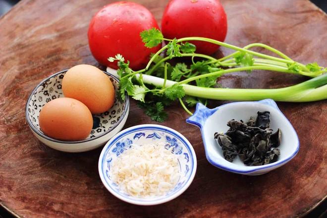 西红柿木耳鸡蛋打卤面的做法大全