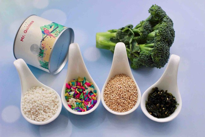 藜麦海苔五彩米饭团的做法大全