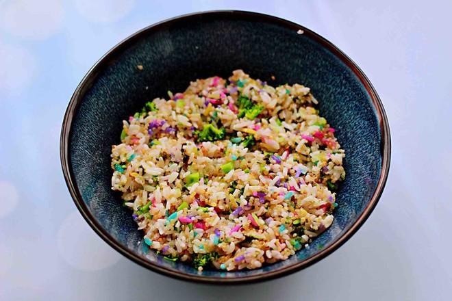 藜麦海苔五彩米饭团怎样炒