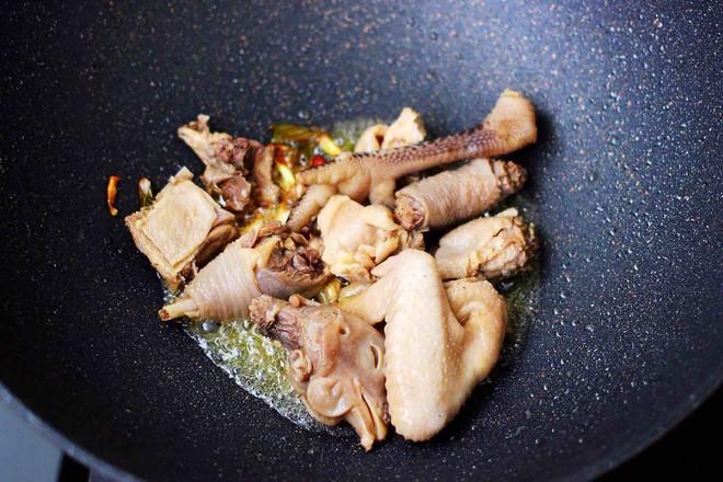 土鸡土豆粉条一锅炖怎么炒
