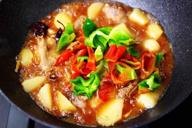 土鸡土豆粉条一锅炖的制作