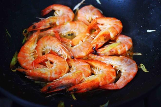 可乐焖海虾怎么煮