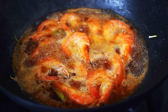 可乐焖海虾怎么煸
