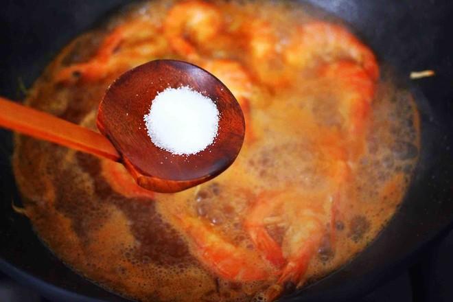 可乐焖海虾怎样煸