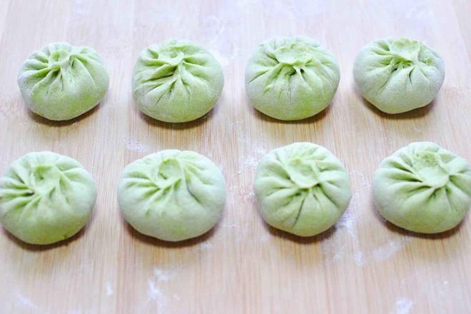 韭菜粉条发面包的制作