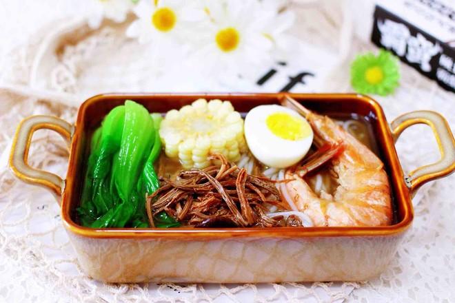 田头菇鸡汤时蔬海鲜米粉怎么炖