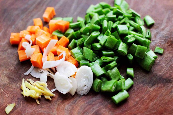 芸豆海虾打卤面的做法图解