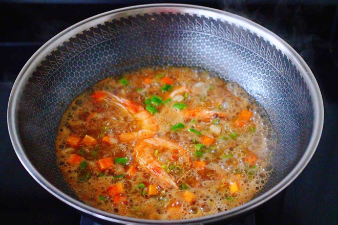 芸豆海虾打卤面怎样炒
