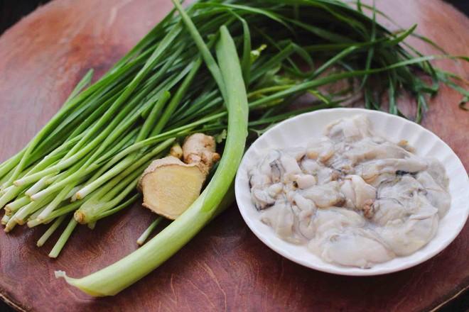 牡蛎韭菜粉嫩饺子的做法大全