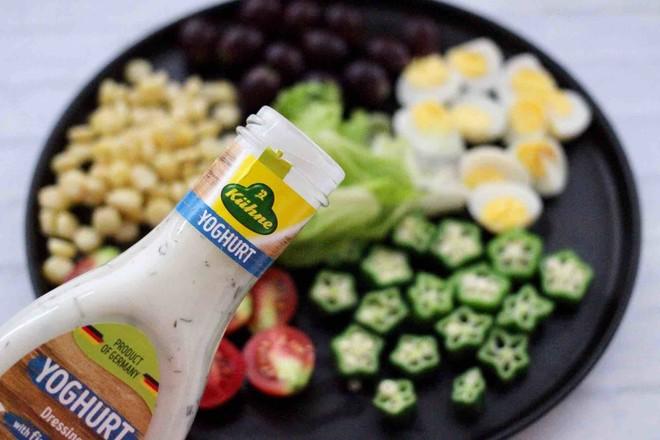 蔬菜水果沙拉的步骤