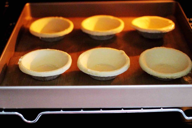 蓝莓黄桃酸奶蛋挞的家常做法