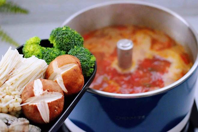 海鲜什锦时蔬火锅怎样做
