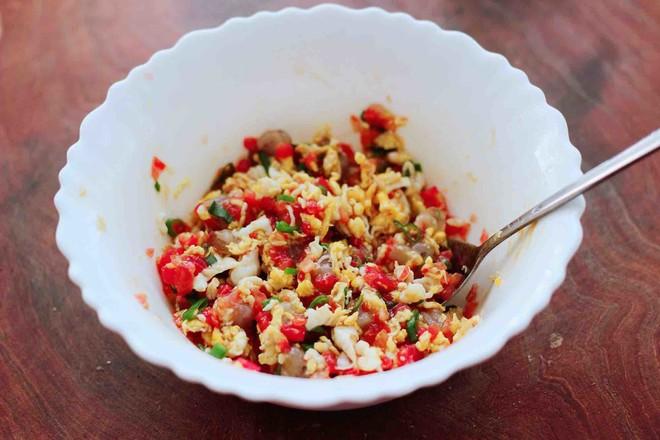 番茄虾仁鸡蛋水晶蒸饺怎么做
