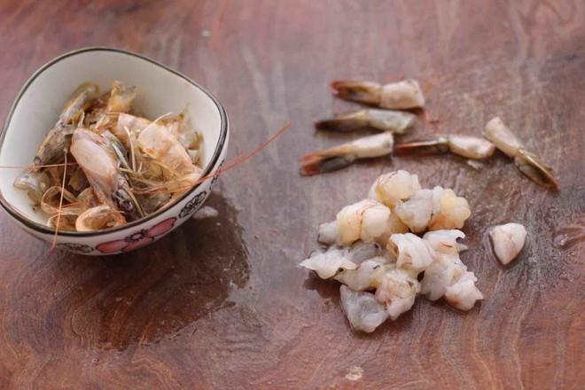 虾仁肉靡酿苦瓜的做法图解