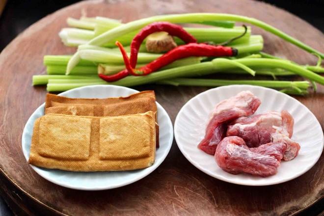 豆干肉片芹菜小炒的做法大全