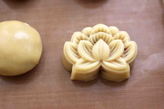 玫瑰花干果饼的制作方法