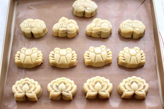 玫瑰花干果饼的制作大全