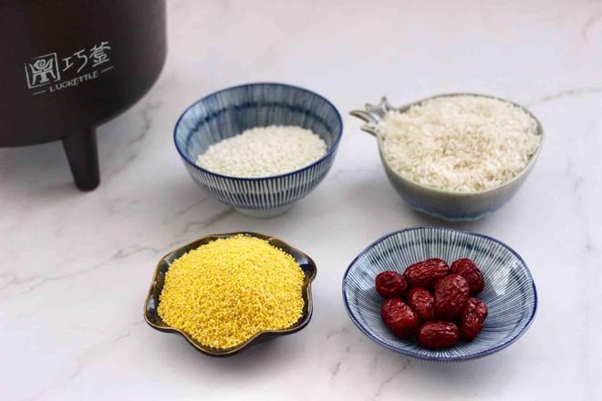 红枣二米饭的做法大全