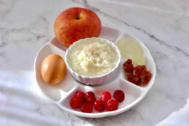 桃胶苹果鸡蛋醪糟羹的做法大全