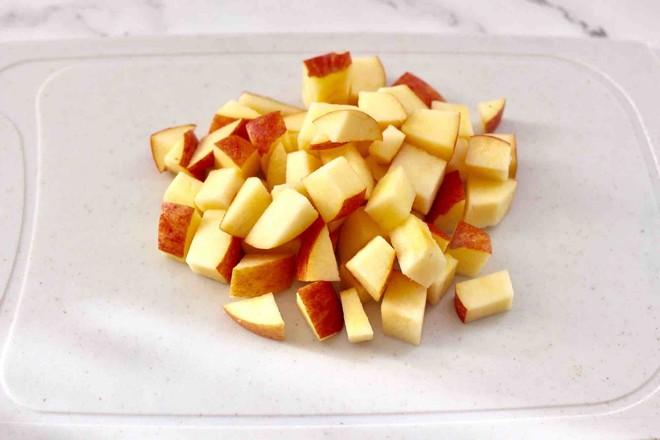 桃胶苹果鸡蛋醪糟羹的家常做法