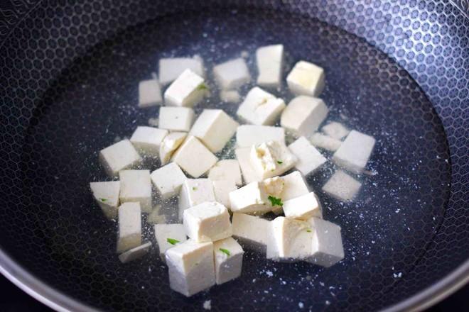 苔菜海虾粉条一锅炖的简单做法