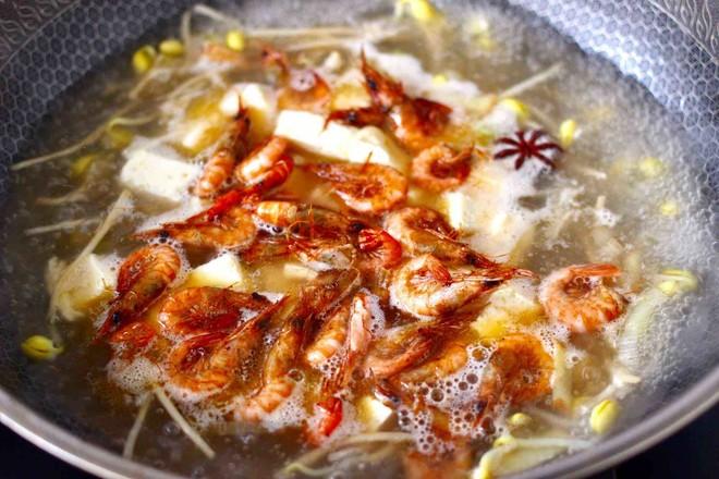 苔菜海虾粉条一锅炖怎样炒