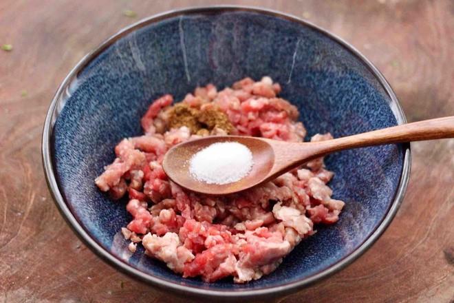 牛肉茼蒿饺子的简单做法