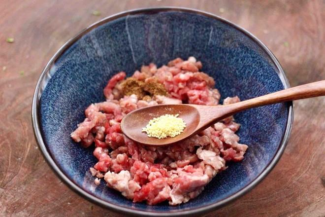 牛肉茼蒿饺子怎么吃